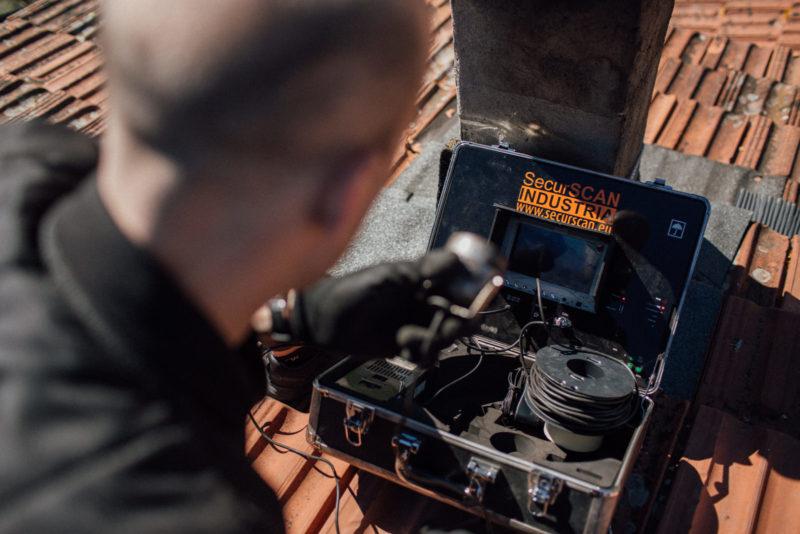 Spazzacamino Roma e Provincia - Strumenti di Videoispezione Canna Fumaria