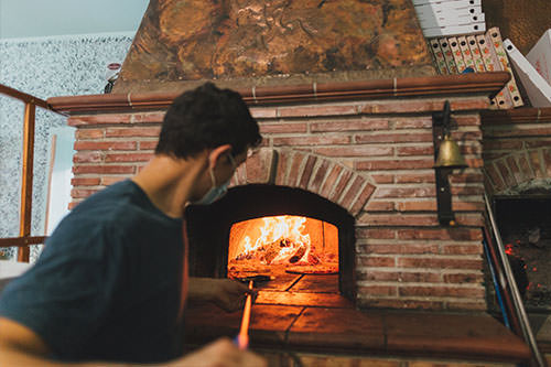 pulizia forno a legna Roma